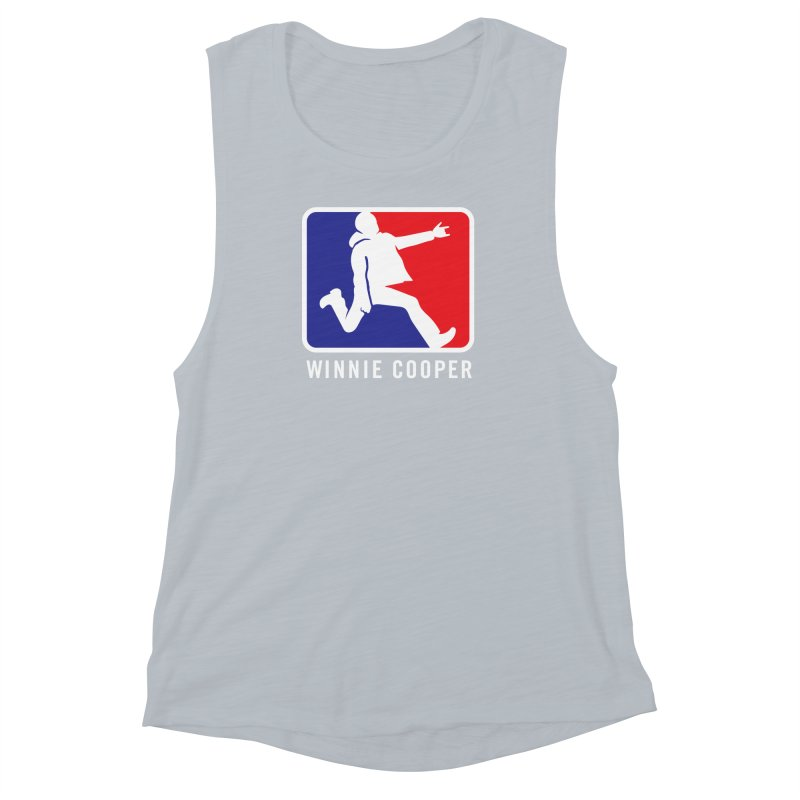 Winnie Cooper Sports Logo Women's Muscle Tank by Winnie Cooper's Artist Shop
