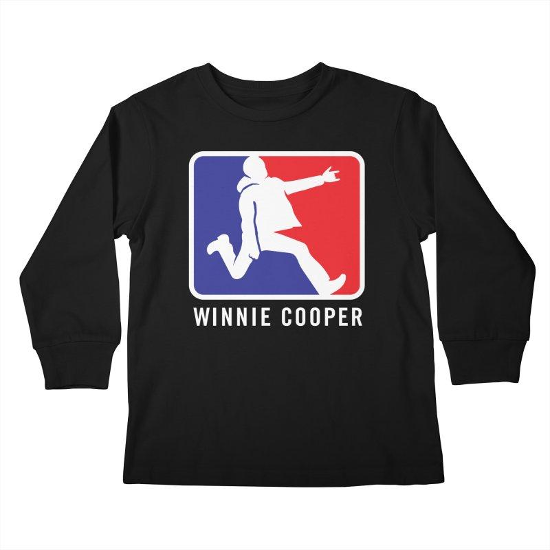 Winnie Cooper Sports Logo Kids Longsleeve T-Shirt by Winnie Cooper's Artist Shop