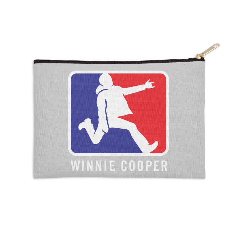 Winnie Cooper Sports Logo Accessories Zip Pouch by Winnie Cooper's Artist Shop