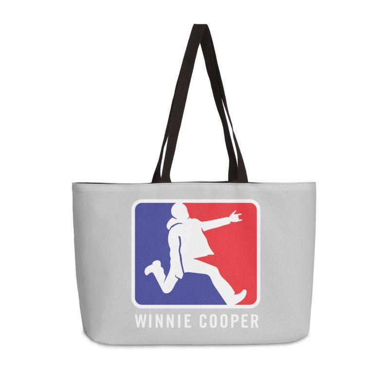 Winnie Cooper Sports Logo Accessories Weekender Bag Bag by Winnie Cooper's Artist Shop