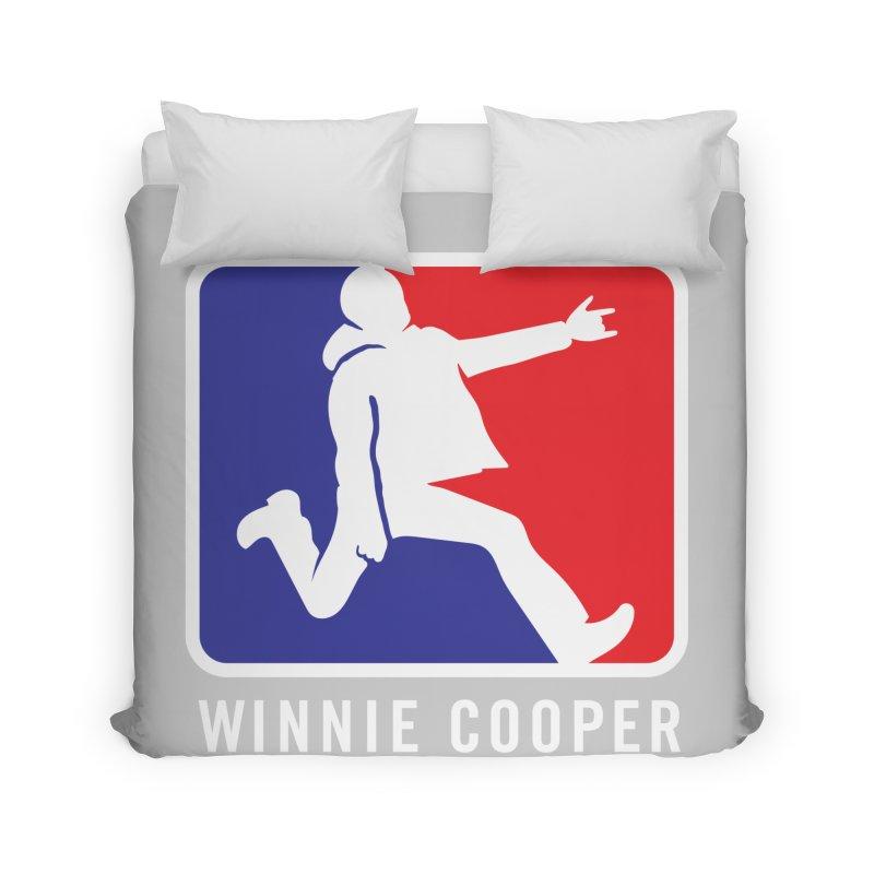 Winnie Cooper Sports Logo Home Duvet by Winnie Cooper's Artist Shop