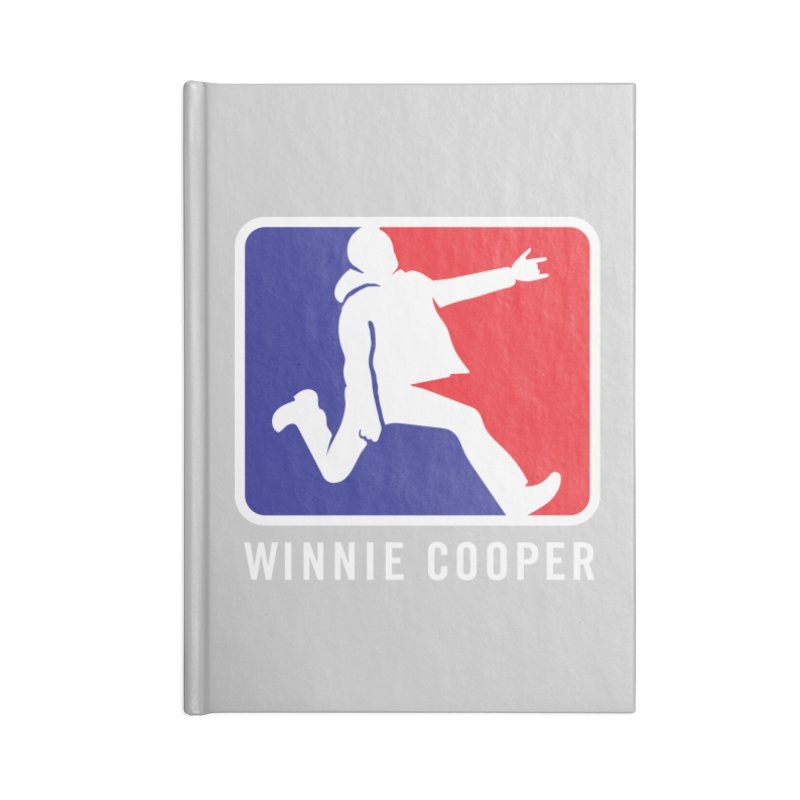 Winnie Cooper Sports Logo Accessories Blank Journal Notebook by Winnie Cooper's Artist Shop