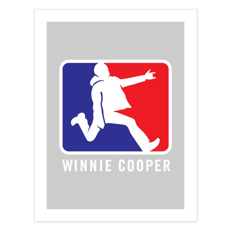 Winnie Cooper Sports Logo Home Fine Art Print by Winnie Cooper's Artist Shop