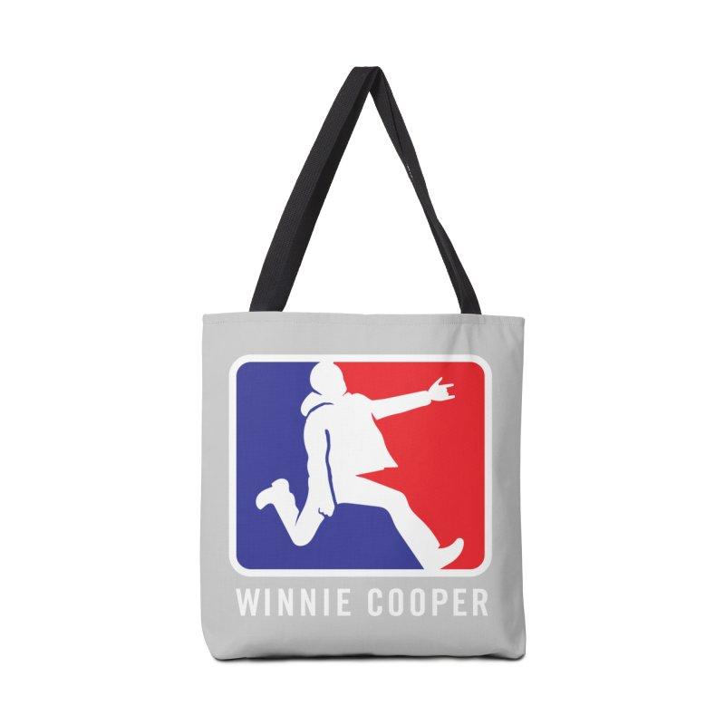 Winnie Cooper Sports Logo Accessories Tote Bag Bag by Winnie Cooper's Artist Shop