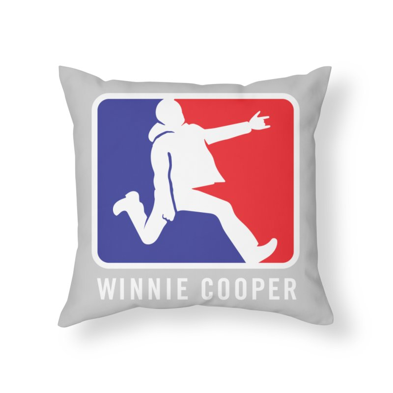 Winnie Cooper Sports Logo Home Throw Pillow by Winnie Cooper's Artist Shop
