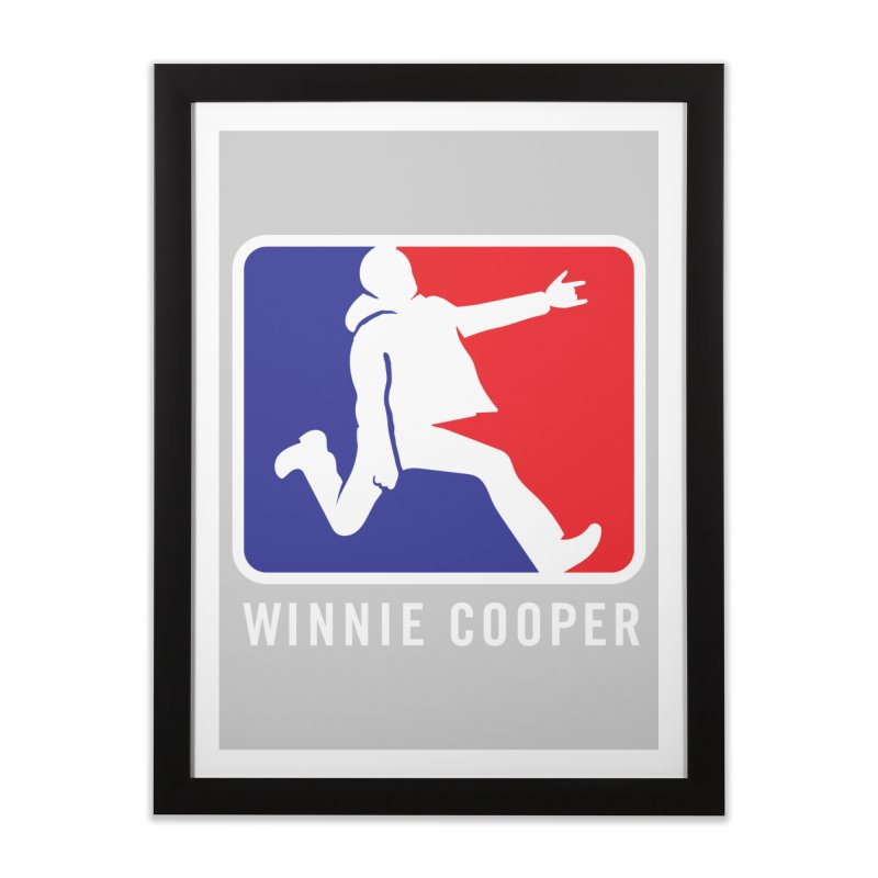 Winnie Cooper Sports Logo Home Framed Fine Art Print by Winnie Cooper's Artist Shop
