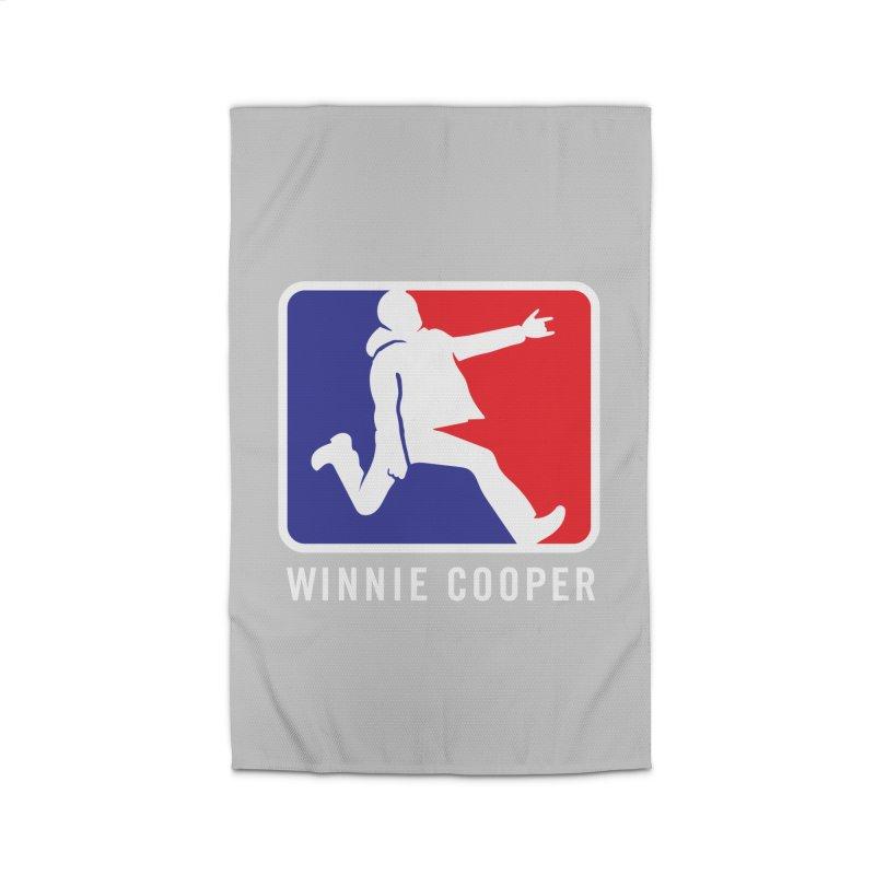 Winnie Cooper Sports Logo Home Rug by Winnie Cooper's Artist Shop