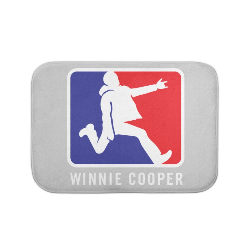 Winnie Cooper Sports Logo Home Bath Mat by Winnie Cooper's Artist Shop