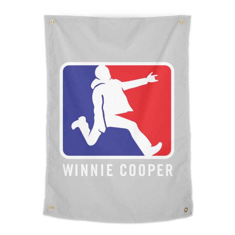 Winnie Cooper Sports Logo Home Tapestry by Winnie Cooper's Artist Shop