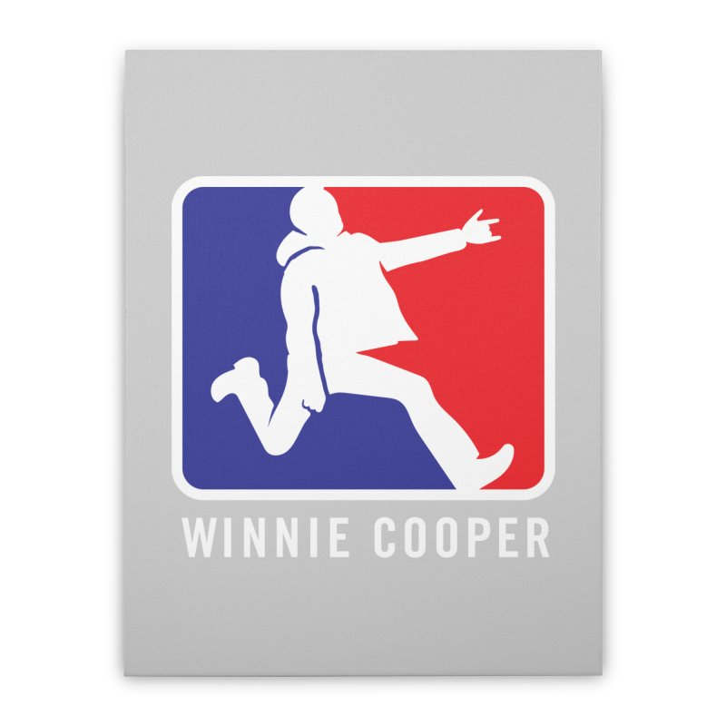 Winnie Cooper Sports Logo Home Stretched Canvas by Winnie Cooper's Artist Shop