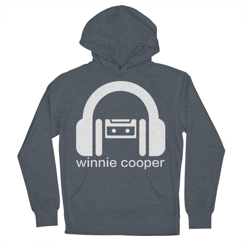 Winnie Cooper Squareish Logo Men's French Terry Pullover Hoody by Winnie Cooper's Artist Shop