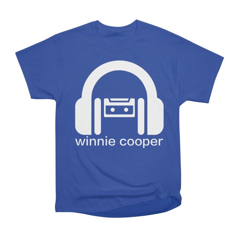 Winnie Cooper Squareish Logo Women's Heavyweight Unisex T-Shirt by Winnie Cooper's Artist Shop