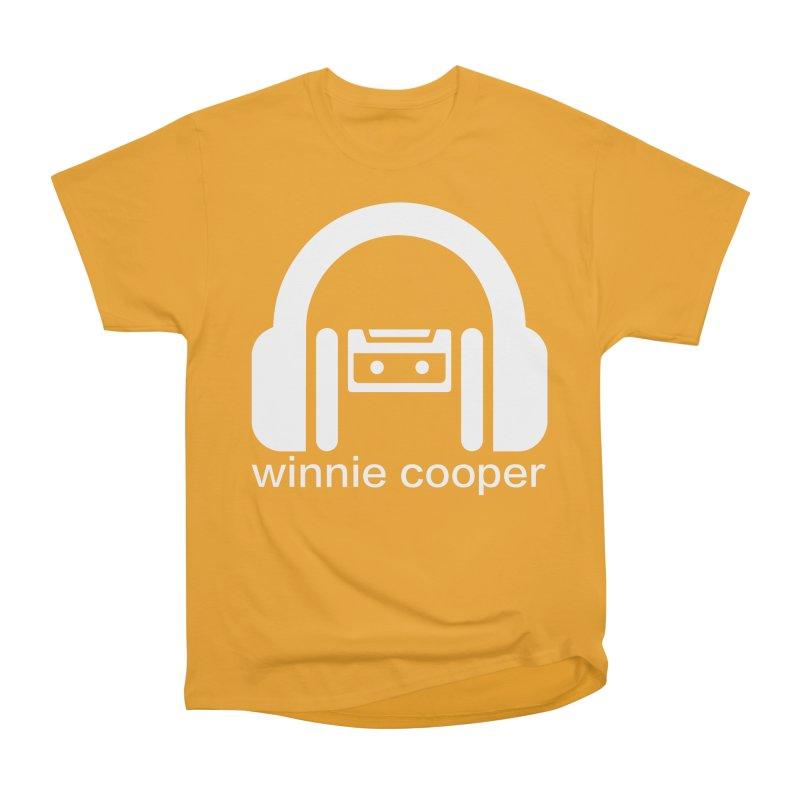 Winnie Cooper Squareish Logo Men's Heavyweight T-Shirt by Winnie Cooper's Artist Shop