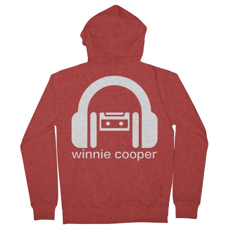 Winnie Cooper Squareish Logo Women's French Terry Zip-Up Hoody by Winnie Cooper's Artist Shop