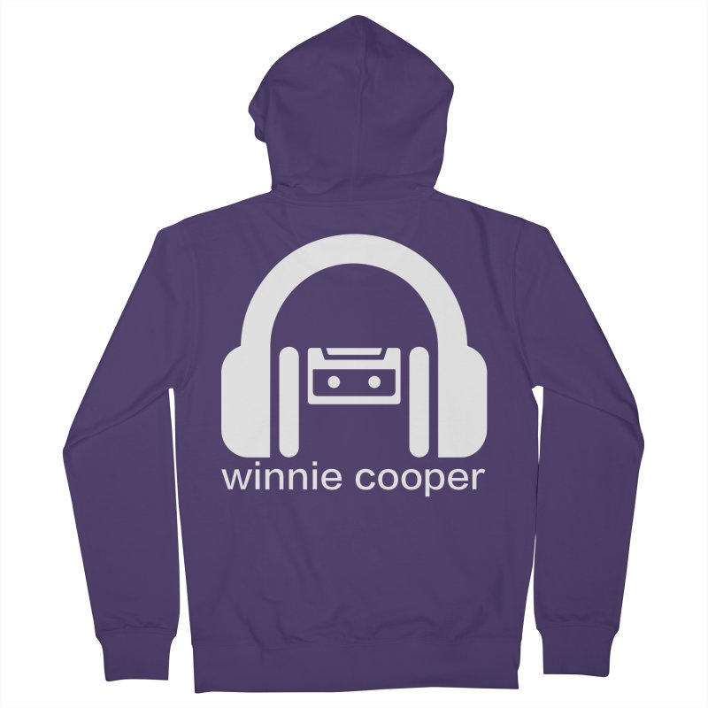 Winnie Cooper Squareish Logo Women's French Terry Zip-Up Hoody by Winnie Cooper's Artist Shop