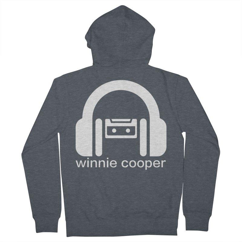 Winnie Cooper Squareish Logo Men's French Terry Zip-Up Hoody by Winnie Cooper's Artist Shop