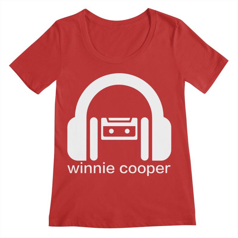Winnie Cooper Squareish Logo Women's Regular Scoop Neck by Winnie Cooper's Artist Shop