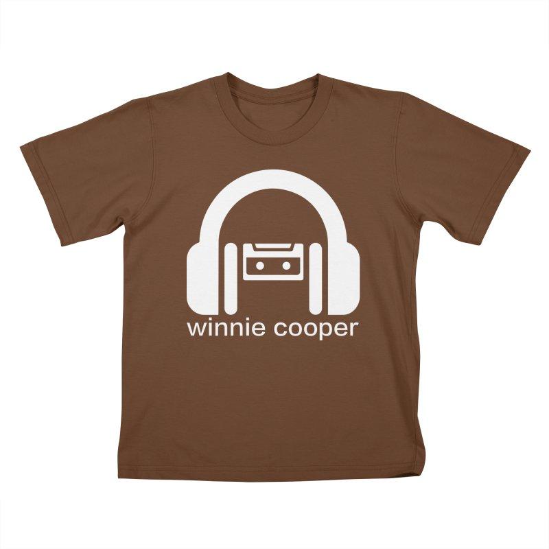 Winnie Cooper Squareish Logo Kids T-Shirt by Winnie Cooper's Artist Shop