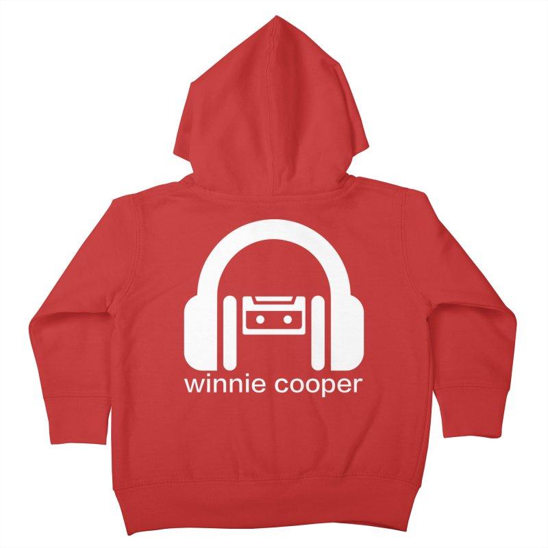 Winnie Cooper Squareish Logo Kids Toddler Zip-Up Hoody by Winnie Cooper's Artist Shop