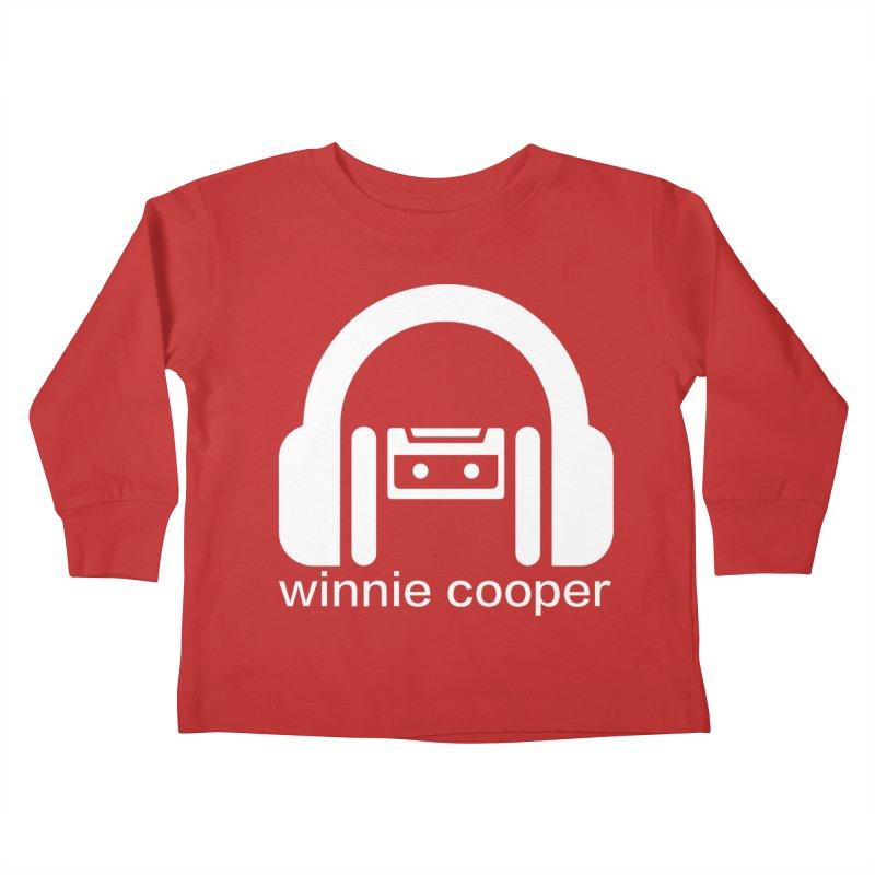 Winnie Cooper Squareish Logo Kids Toddler Longsleeve T-Shirt by Winnie Cooper's Artist Shop
