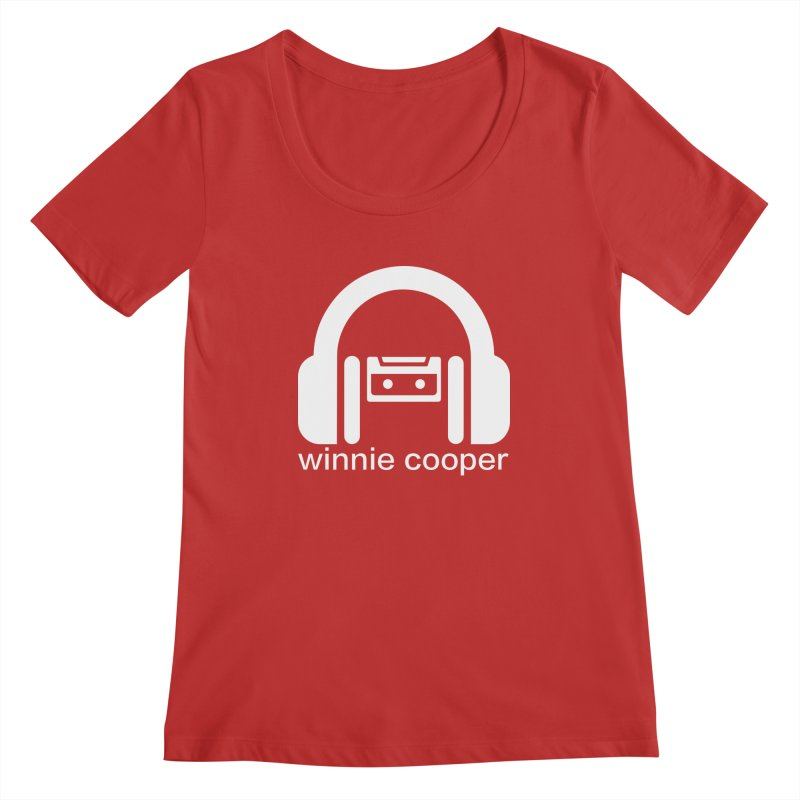 Winnie Cooper Squareish Logo Women's Regular Scoop Neck by Winnie Cooper's Artist Shop
