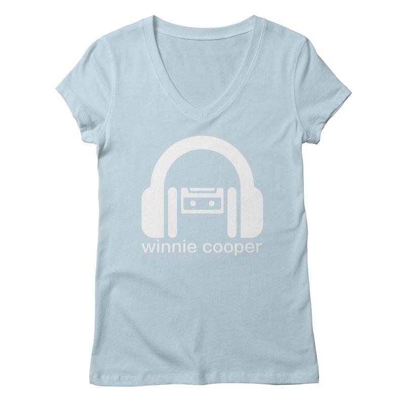 Winnie Cooper Squareish Logo Women's Regular V-Neck by Winnie Cooper's Artist Shop
