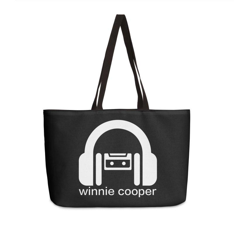Winnie Cooper Squareish Logo Accessories Weekender Bag Bag by Winnie Cooper's Artist Shop
