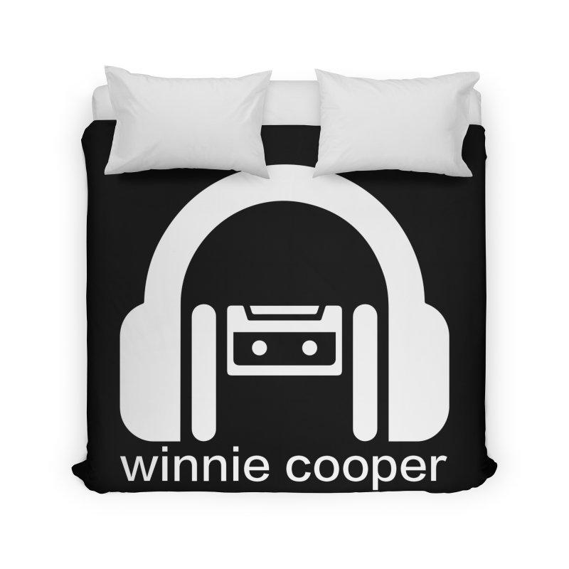 Winnie Cooper Squareish Logo Home Duvet by Winnie Cooper's Artist Shop