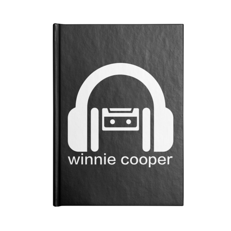 Winnie Cooper Squareish Logo Accessories Blank Journal Notebook by Winnie Cooper's Artist Shop