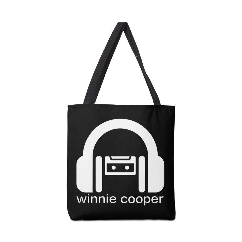 Winnie Cooper Squareish Logo Accessories Tote Bag Bag by Winnie Cooper's Artist Shop