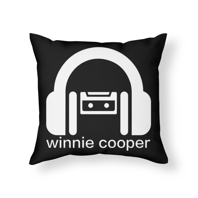 Winnie Cooper Squareish Logo Home Throw Pillow by Winnie Cooper's Artist Shop