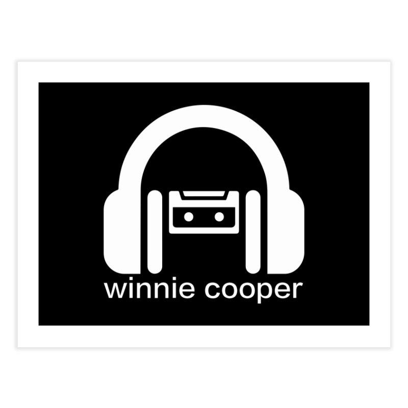 Winnie Cooper Squareish Logo Home Fine Art Print by Winnie Cooper's Artist Shop