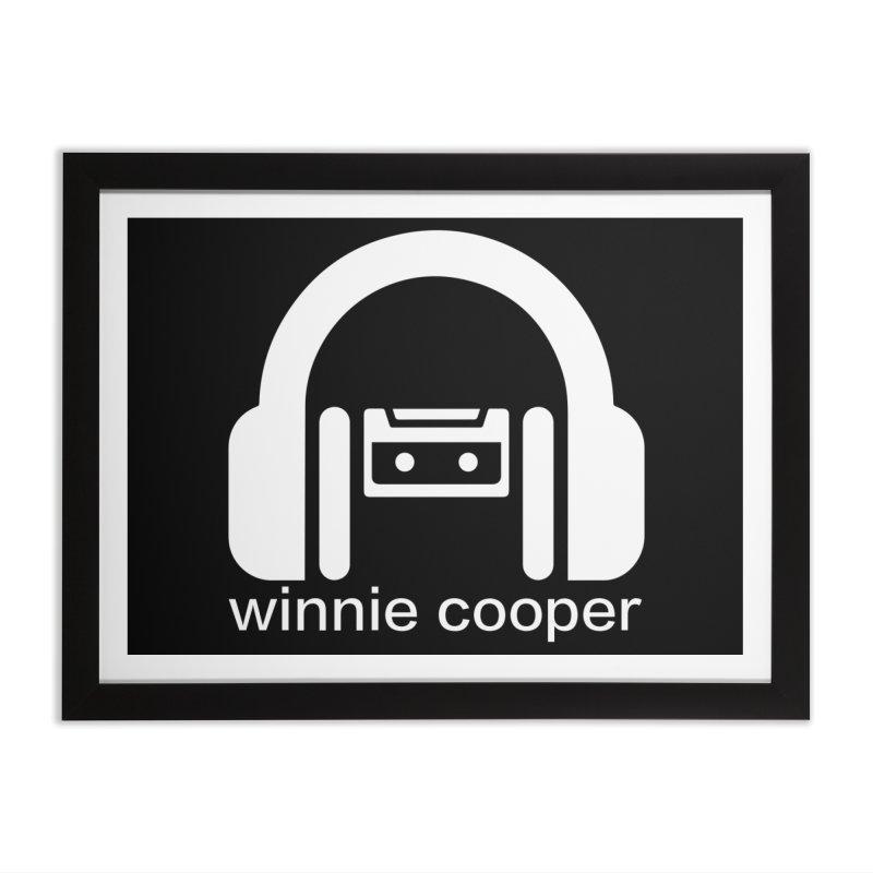 Winnie Cooper Squareish Logo Home Framed Fine Art Print by Winnie Cooper's Artist Shop