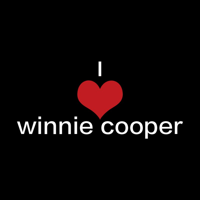 I Heart Winnie Cooper (White Text) Kids T-Shirt by Winnie Cooper's Artist Shop