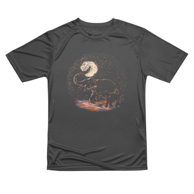 MIDNIGHT FUN Men's Performance T-Shirt by Winterglaze's Artist Shop