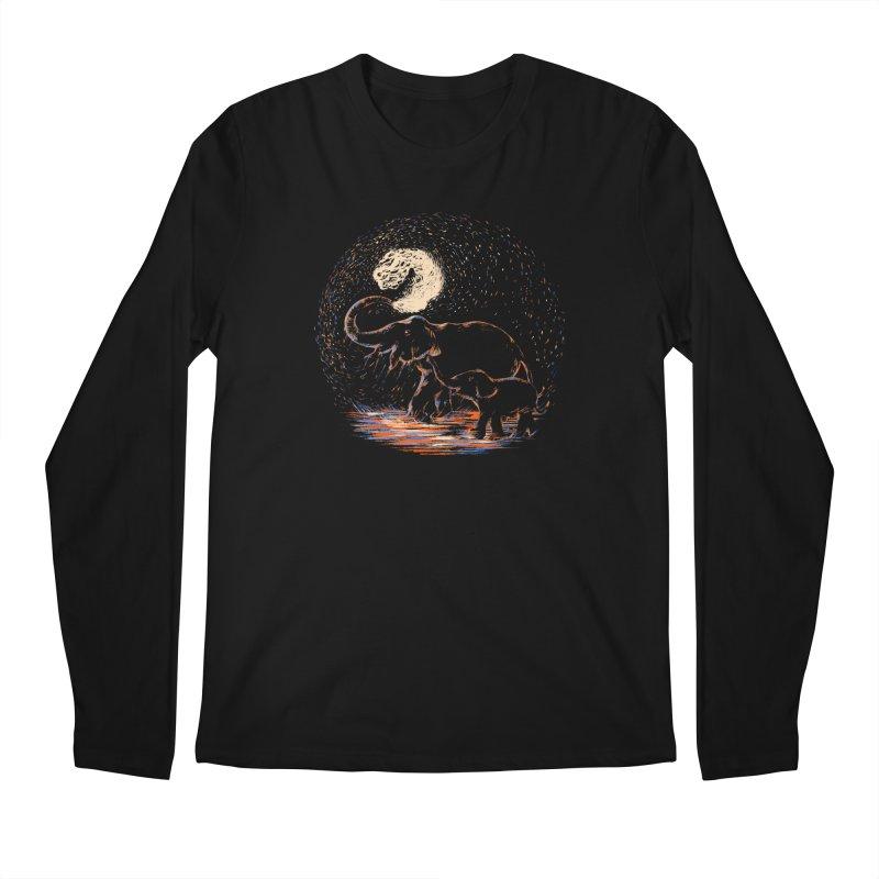 MIDNIGHT FUN Men's Regular Longsleeve T-Shirt by Winterglaze's Artist Shop