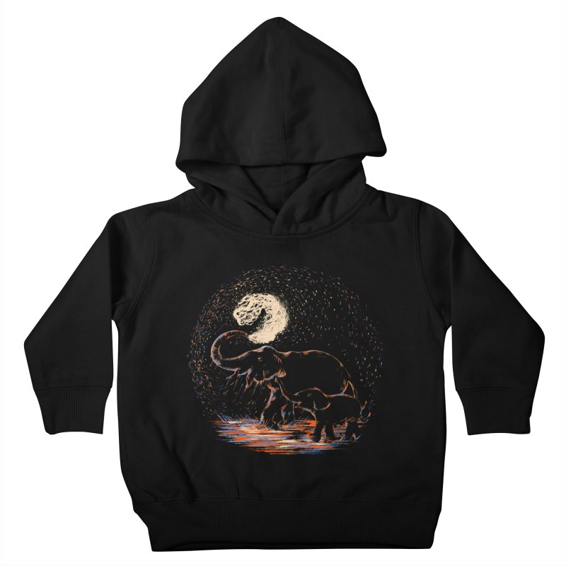 MIDNIGHT FUN Kids Toddler Pullover Hoody by Winterglaze's Artist Shop