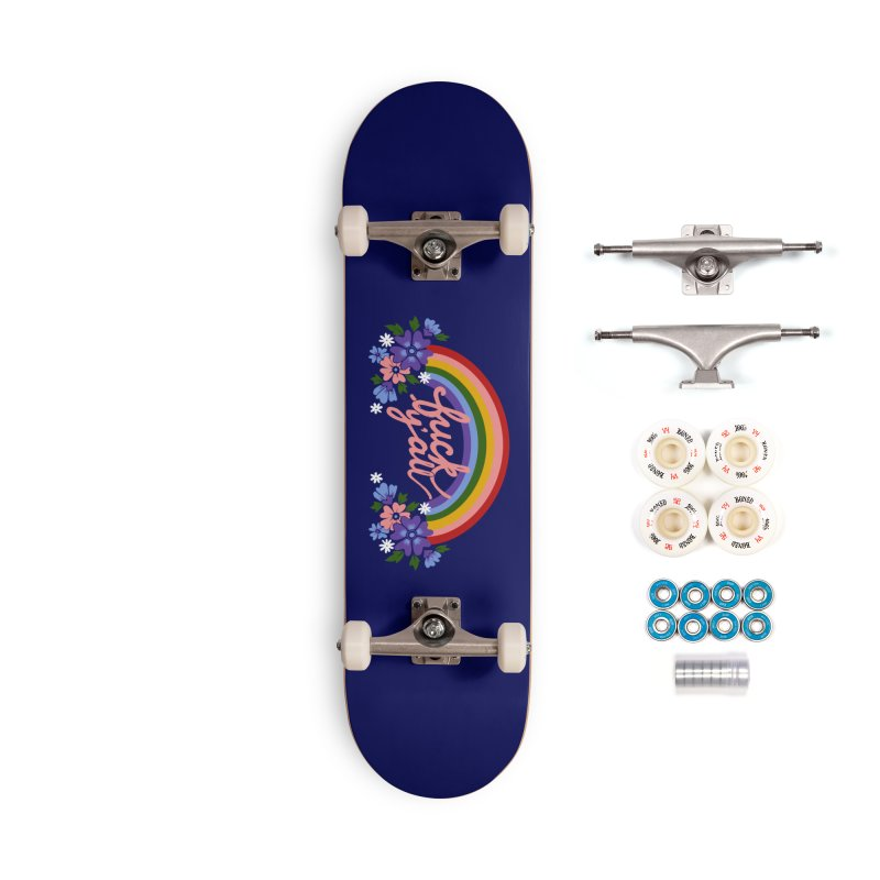FUCK Y'ALL Accessories Complete - Premium Skateboard by Winterglaze's Artist Shop