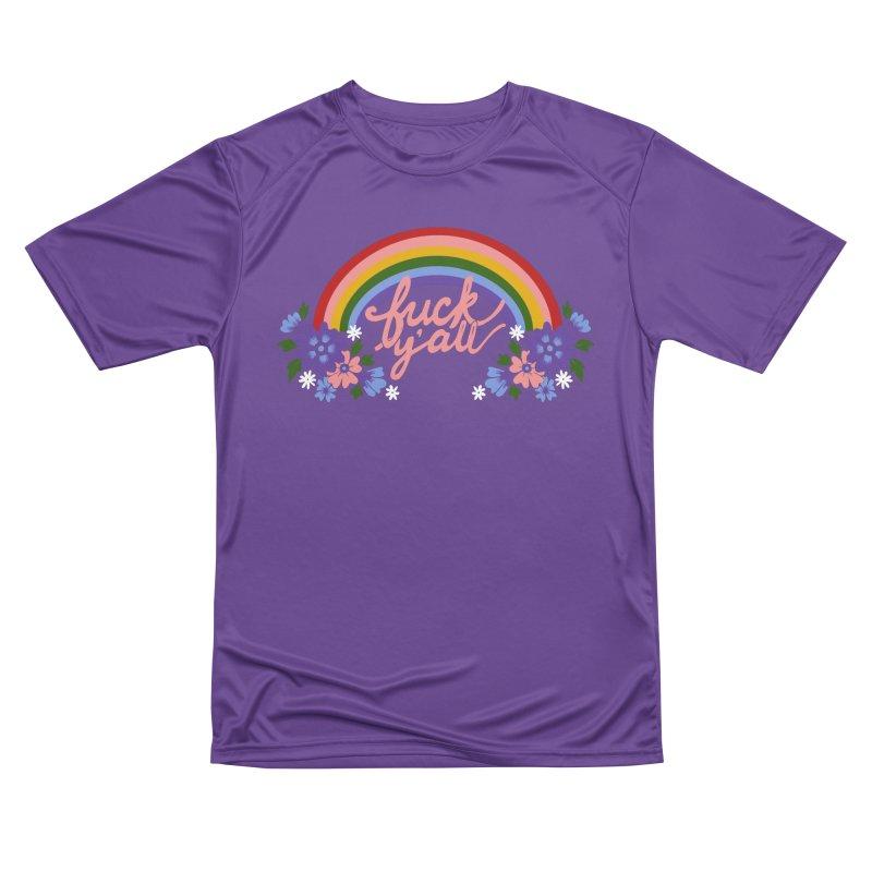 FUCK Y'ALL Men's Performance T-Shirt by Winterglaze's Artist Shop