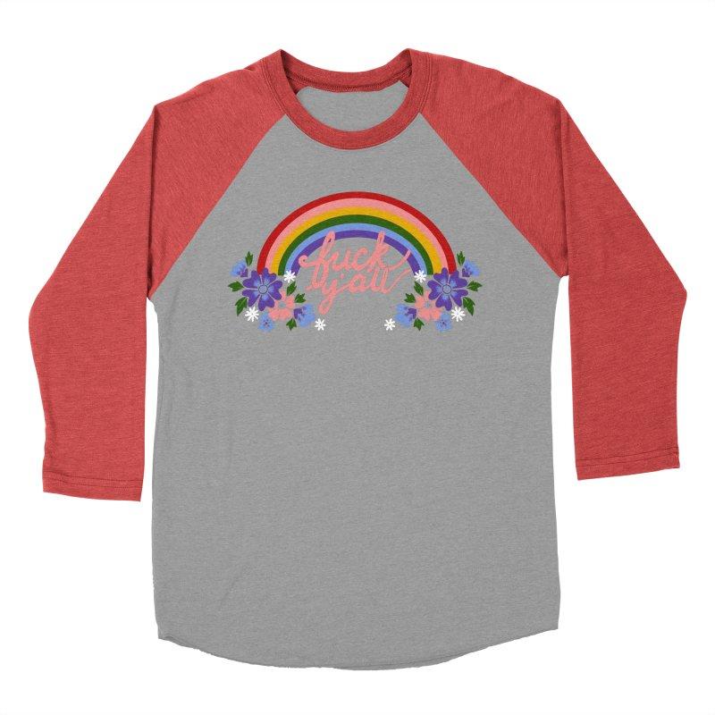 FUCK Y'ALL Men's Longsleeve T-Shirt by Winterglaze's Artist Shop