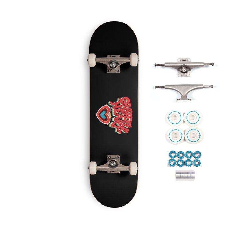 GRATEFUL HEART Accessories Complete - Basic Skateboard by Winterglaze's Artist Shop