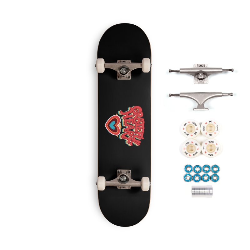 GRATEFUL HEART Accessories Complete - Premium Skateboard by Winterglaze's Artist Shop