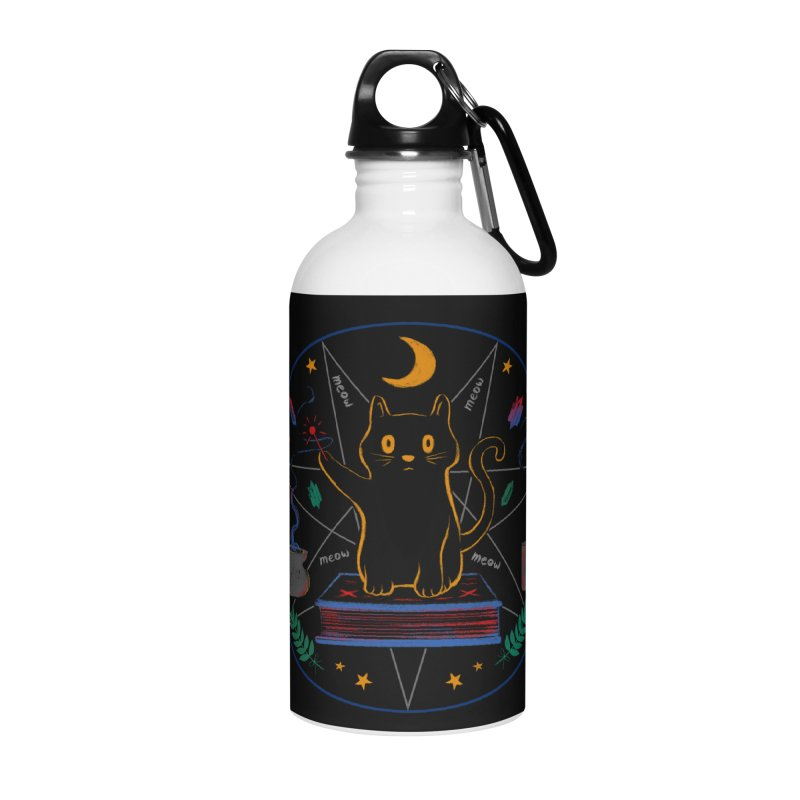 MEOW-GIC! Accessories Water Bottle by Winterglaze's Artist Shop