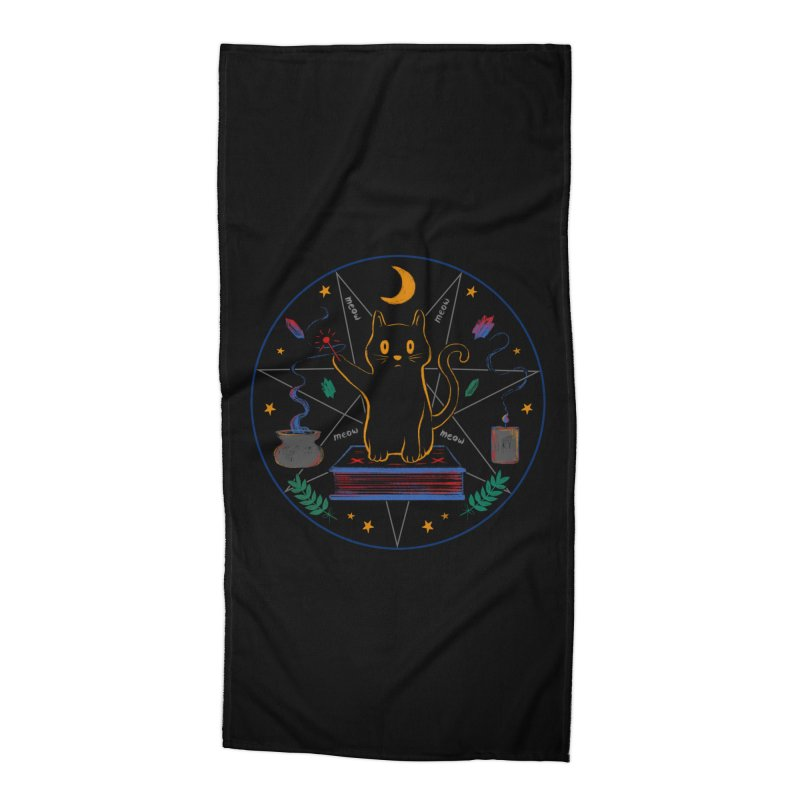 MEOW-GIC! Accessories Beach Towel by Winterglaze's Artist Shop