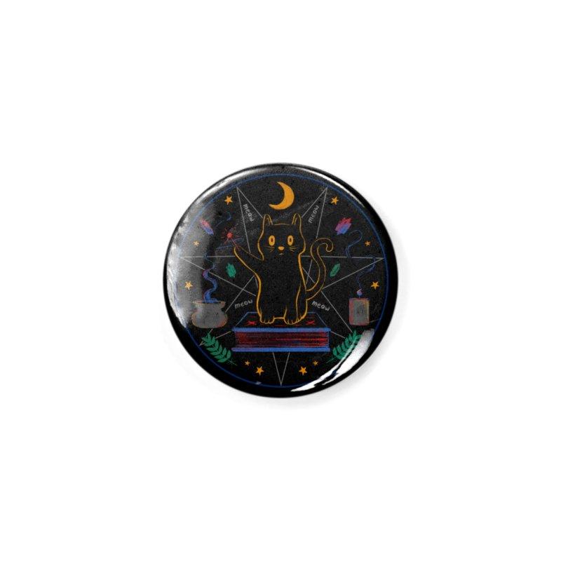 MEOW-GIC! Accessories Button by Winterglaze's Artist Shop