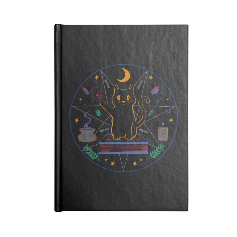 MEOW-GIC! Accessories Lined Journal Notebook by Winterglaze's Artist Shop