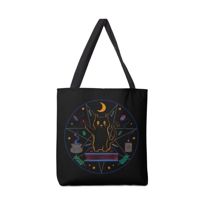 MEOW-GIC! Accessories Tote Bag Bag by Winterglaze's Artist Shop
