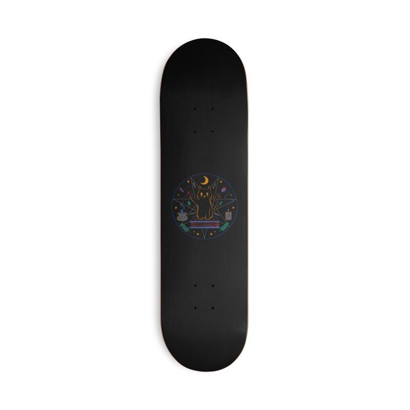 MEOW-GIC! Accessories Deck Only Skateboard by Winterglaze's Artist Shop