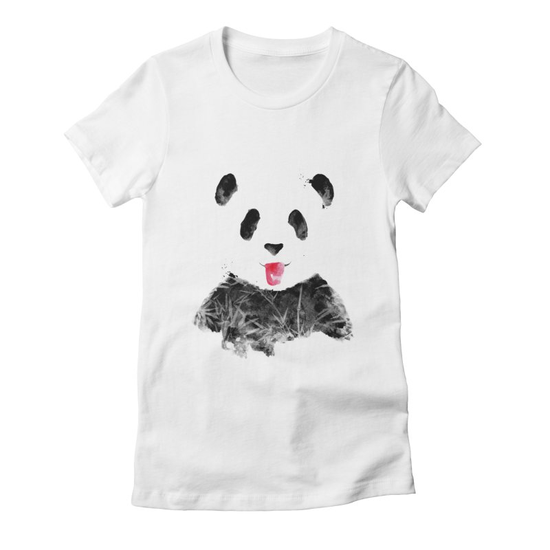 BLEH Women's Fitted T-Shirt by Winterglaze's Artist Shop