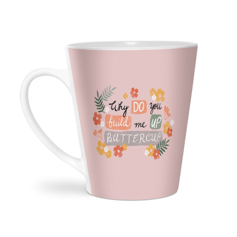 BUTTERCUP Accessories Latte Mug by Winterglaze's Artist Shop